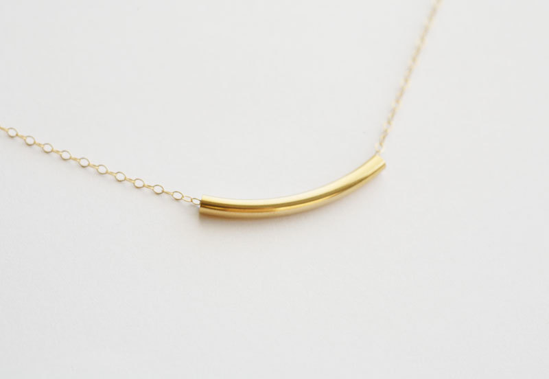 Entirely In 14K GOLD FILLED,Gold Bar Necklace, Everyday jewelry,Layering,Simply,Gold Filled Necklace,Bridesmaid Gifts,birthday,Friendship